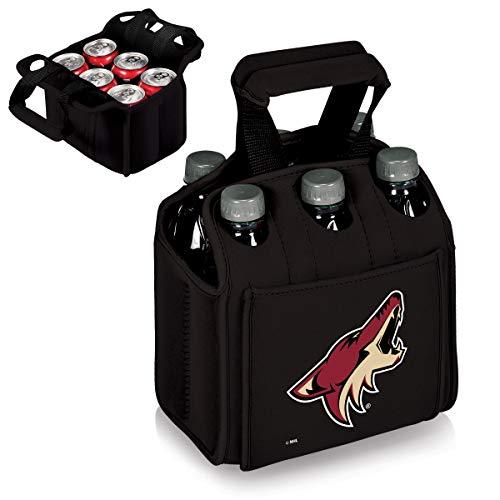 PICNIC TIME NHL Arizona Coyotes Six Pack Insulated Neoprene Beverage Tote
