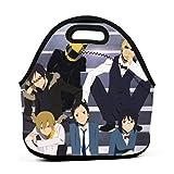 Yuanmeiju bolsa del almuerzo Durarara!! Panier repas, Insulated Neoprene Lunch Tote With Zipper For School Work Outdoor,Portable Bento Bag