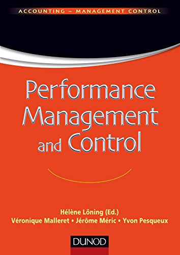 Performance Management and Control (Comptabilité - Contrôle de gestion) (English Edition)