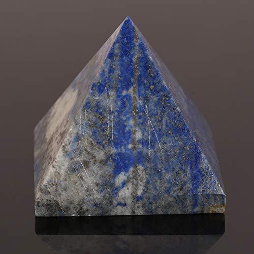 Lapislazuli Heilkristallpyramide Metaphysische Steinfigur 25 MM