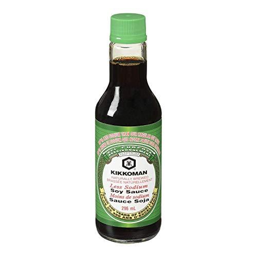 Kikkoman Soy Sauce Less Sodium