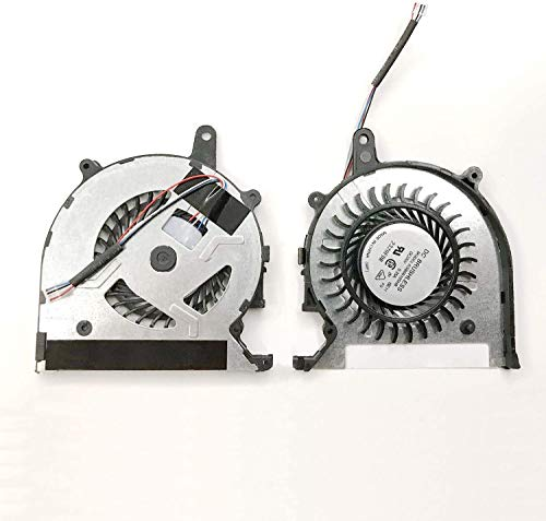 Todiys CPU Cooling Fan for Sony Vaio Pro13 SVP13 SVP13A SVP132 SVP132A SVP1321 SVP1321A SVP1321S SVP13213 SVP1322 Series SVP13A1A4E SVP132A1CM SVP1321C6E SVP1321D4E SVP1321L1E SVP1321S1E