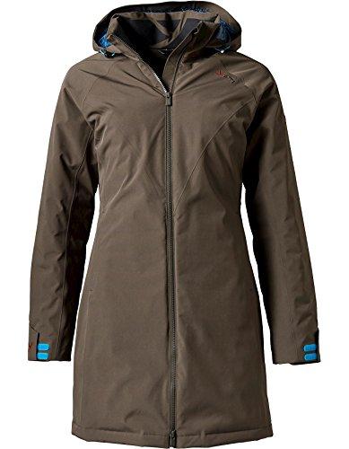YETI RAA Hardshell Down Coat Damen deep Brown/Ensign Blue Größe L 2019 Jacke