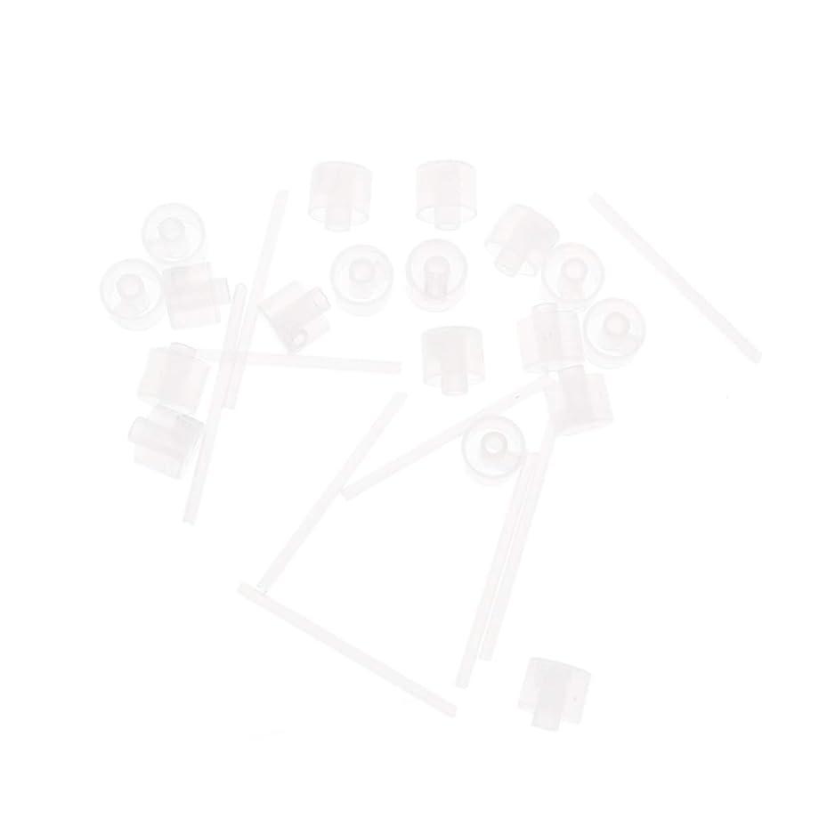 砂続ける統治するLurrose 20ピースプラスチック香水ポンプディスペンサー香水ディスペンサーツール