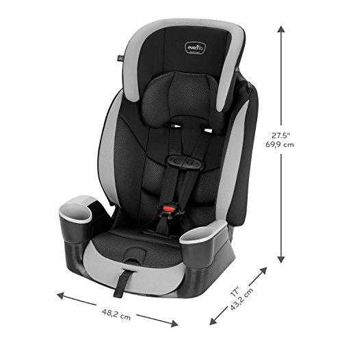 Evenflo Maestro Sport Harness Booster Car Seat, Granite