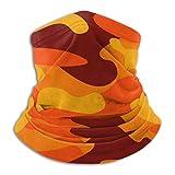 Lawenp Microfibra Cuello Calentador Bandanas Patrón de camuflaje Fondo Ropa clásica Pasamontañas Moda Cubierta facial