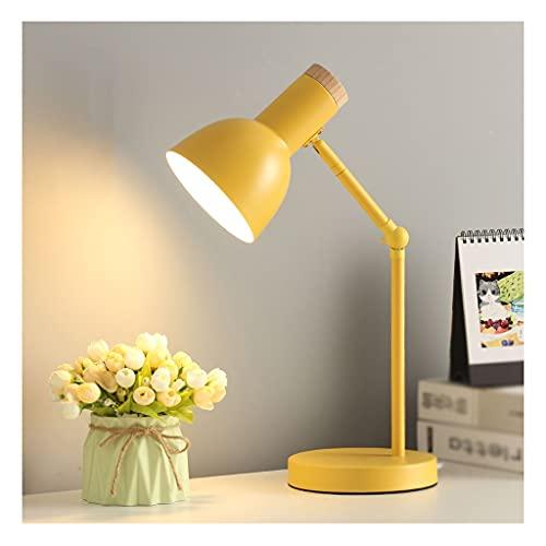Lámpara de mesa de servicio Lámpara moderna de la mesa de la mesa de ojos del estudiante de la lámpara de la lámpara de la lámpara de la lectura del dormitorio Lámparas de mesa de noche, usadas for la