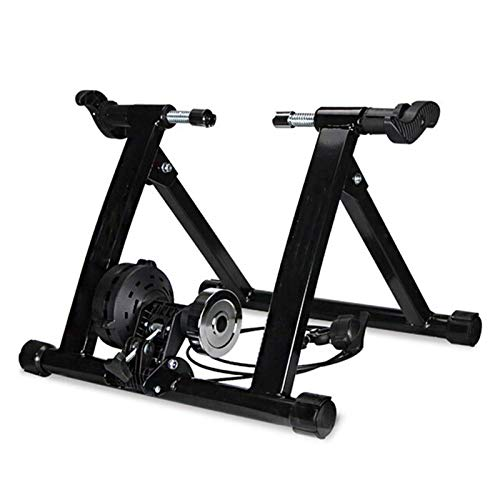 Jtoony Bicycle Trainer 20-22inch Folding Wire Control Bike Trainer Roller Cycling Rack Indoor Bicycle Training Stand Exercise Tools Indoor Exercise Stand