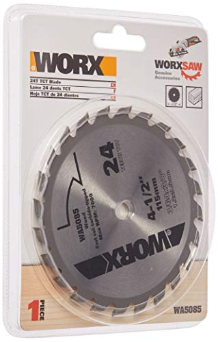 Worx WA5085 24T TCT Blade, 4 1/2