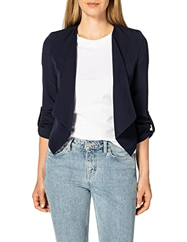 Only ONLMISTY 4/5 Drapy Blazer CC TLR, Azul Oscuro, 44 para Mujer