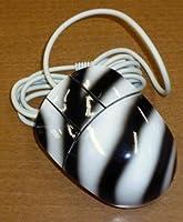デザインマウス PS2-3ボタンマウス ゼブラ柄 L-1201-ZBRA