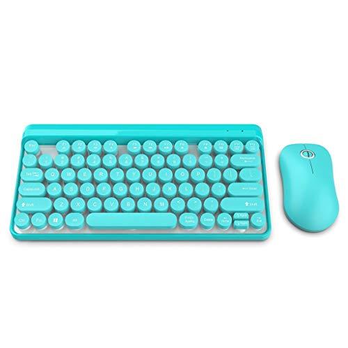 Yusell L100 2.4G Kabellose Tastatur und Maus Benutzerhandbuch Kabellose Multimedia-Tastatur (Himmelblau)