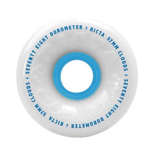 Ricta Clouds White 78a Skateboard Wheels (57 mm)