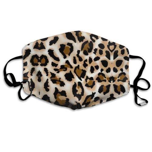 Atmungsaktive Premium Gesichtsschutzhülle,Leopard Prints Printed Women Men Anti Wind Staubschutz Schutzhülle Für Skifahren Camping Reisesicherheit, Täglicher Gebrauch