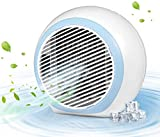 Portable Air Conditioner, 4-in-1 Personal Mini Evaporative Air Cooler with 3 Speeds 7 Colors, Quiet Air Conditioner Portable for Room, Home, Office