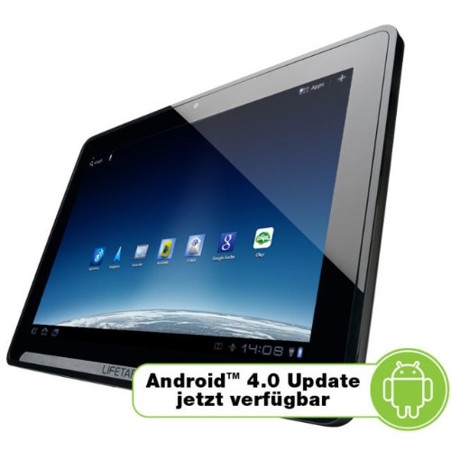 Medion LifeTab P9514 25,4 cm (10 Zoll) Tablet-PC 3G (NVIDIA Tegra 2 Dual-Core-Prozessor, 1GHz, 1GB RAM, 32GB eMMC, Update auf Android 4.0)