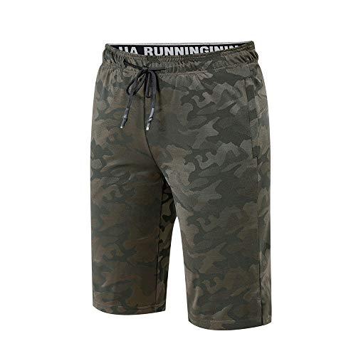 Pantalones Cortos Ciclistas Pantalones cortos de ciclismo MTB de montaña para hombre Pantalones cortos de senderismo activos Pantalones cortos de ciclismo holgados repelentes al agua para el Entrenami