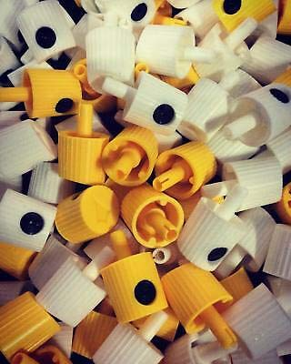 50 Pack Mix 25 Lego Thins 25 NY Fat Spray Paint Caps for Graffiti Street Art Professional Quality