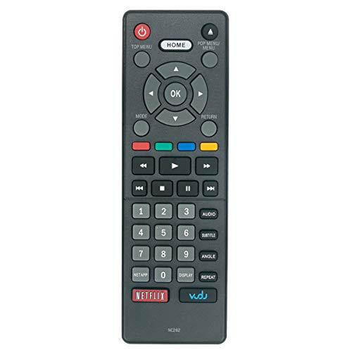 NC262UH NC262 Remote Control Applicable for Magnavox Blu-ray Disc DVD Player MBP5320F MBP5320F/7F MBP5320 MBP5320/F7 MBP5320/F7F MBP5320/F7G MBP5320/F7H