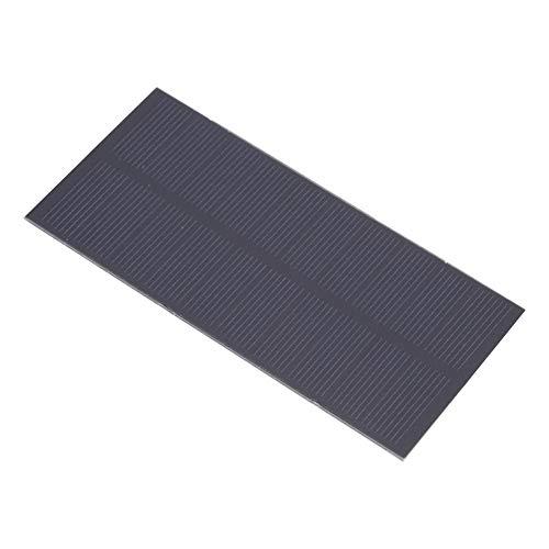 Alupre 1.3W 5V Sonnenkollektor PET laminiert monokristallinem Silizium Wiederaufladbare 3.7V 131x61mm
