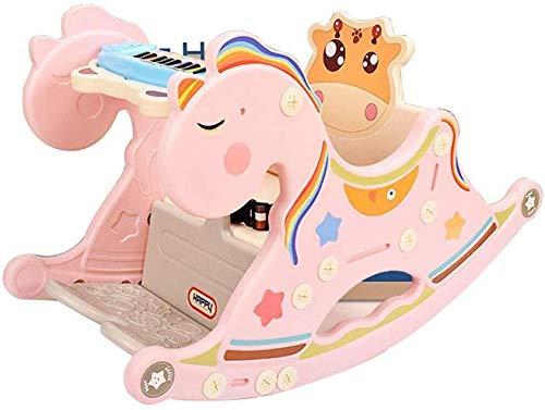 Wiege Swing & Chair Wip schommelstoel baby-spel schommelstoel van kunststof schommelpaard pasgeboren baby-schommelstoel, geschikt voor geboorte (kleur: B), kleur: A