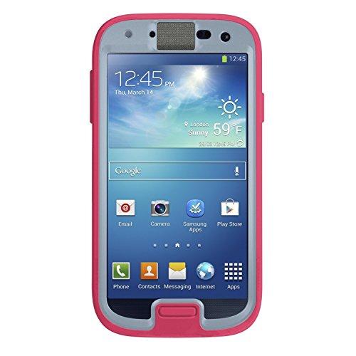 OtterBox Preserver Series Waterproof Case for Samsung Galaxy S4 - Retail Packaging - Primrose (Blaze Pink/Powder Gray)