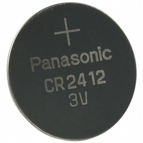 Panasonic Variantenangebot Komplettsortiment CR Lithium Knopfzellen Industrieware - Wählen Sie aus: BR1225 BR2325 CR1025 CR1216 CR1220 CR1612 CR1616 CR1620 CR1632 CR2012 CR2016 CR2025 CR2032 CR2330 CR2354 CR2412 CR2450 CR2477 CR3032 (5, CR2412)