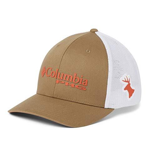 Columbia Unisex PHG Mesh Ball Cap, Flax, Deer, Large/X-Large