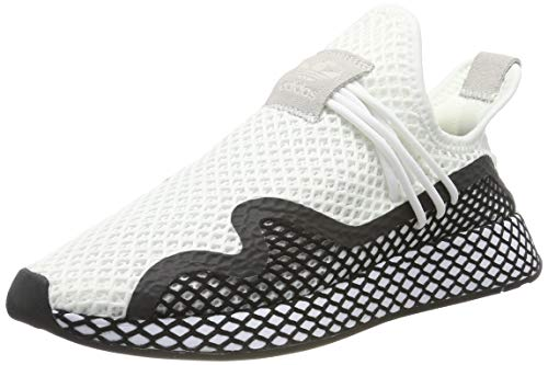 adidas Deerupt New Runner, Zapatillas para Hombre, Color Blanco Footwear White Core Black Footwear White 0, 43 1/3 EU