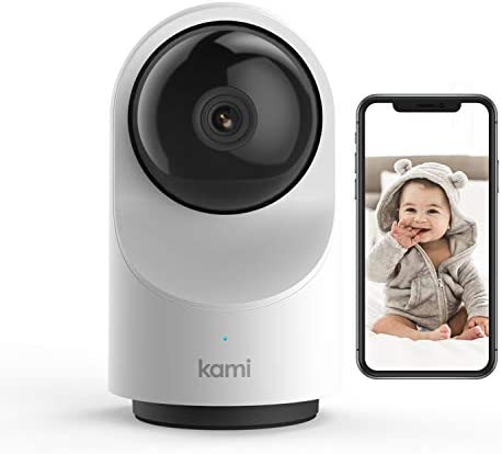 Baby Monitor with Camera and Audio HD WiFi Kami by YI Pan Tilt Zoom Baby Camera Sound Motion product image