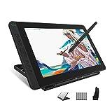 HUION Kamvas 13 Tableta Gráfica con Pantalla, Monitor de Dibujo Gráfico de 13,3 Pulgadas,120% sRGB, Lápiz PW517,...