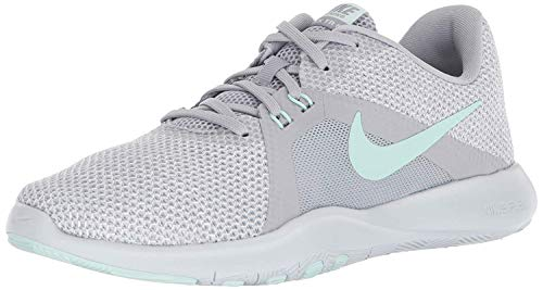 Nike Women's Flex Trainer 8 Cross, Wolf Grey/Igloo/White/Pure Platinum, 9 Regular US