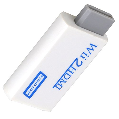 creative-idea Wii auf HDMI Adapter, Ausgang 1080P 720P Konverter 3,5mm HD Audio