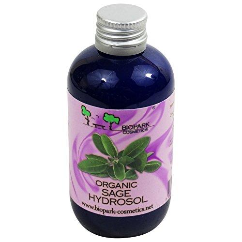 Biopark - Idrolato - Acqua Floreale di Salvia - Biologica - Astringente per Pelle Normale e Grassa - 100 ml