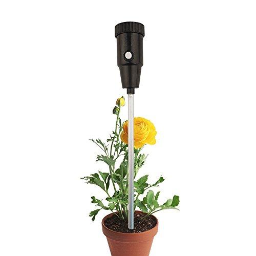 2 en 1 Hydromètre pour jardin Ferme Plante du sol Instrument d'Enquête, Terre testeur de pH Mètre et d'humidité Sensor, utilisation intérieure/extérieure