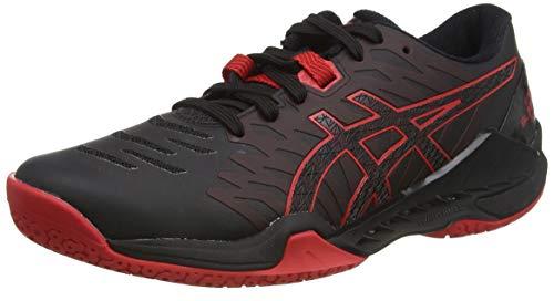 ASICS Herren 1071A044-001-10 Running Shoe, Black Classic Red, 44 EU