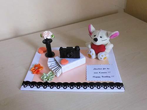 Fotoshooting Fotograf - Geldgeschenk - Kamera - Geburtstag Muttertag Ostern Geschenkverpackung
