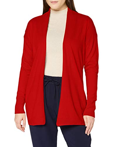 United Colors of Benetton Damen Cardigan M/l Strickjacke, Red 015, XL