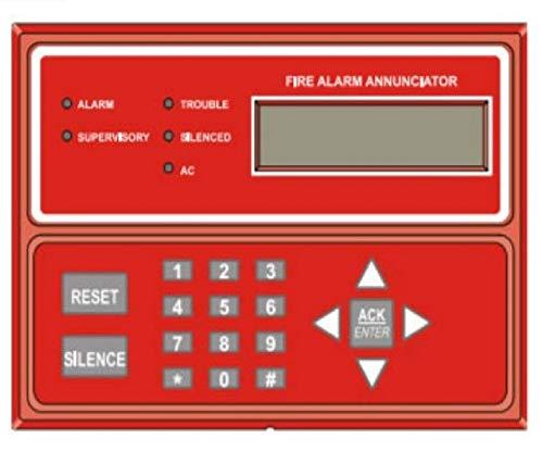 Gamewell-FCI GWRAN-400 Remote Annunciator for Flex 410 Fire Alarm Control Panel