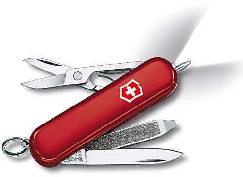 Victorinox Taschenmesser Signature Lite (7 Funktionen, Kugelschreiber, LED-Licht) rot