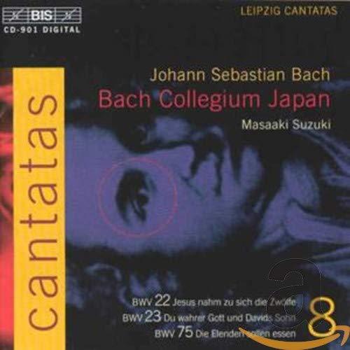Integral Cantatas Bwv 22,23,75 V.8