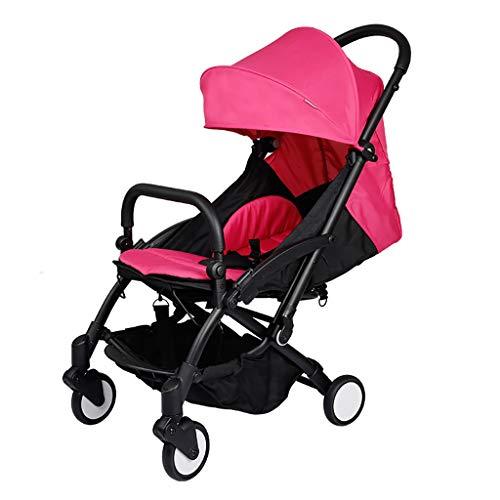 Lowest Price! KHUY Doll Pram with Swiveling Wheels & Adjustable Handle,Pram Stroller Folding Convert...