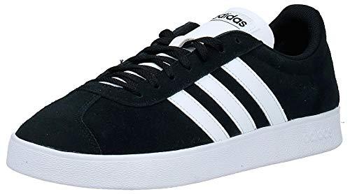 adidas VL Court 2.0', Zapatillas Hombre, Negro (Core Black/FTWR White/FTWR White Core Black/FTWR White/FTWR White), 44 EU