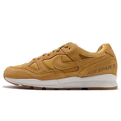 Nike Air Span II PRM, Zapatillas de Deporte Hombre, Multicolor (Wheat/Wheat/Light Bone/Gum...