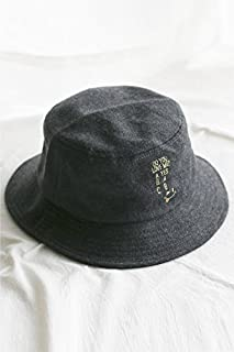 caca2d7bad1 Woolen hat Cap Women Girls Winter Unique Bucket Hats (Dark Gray
