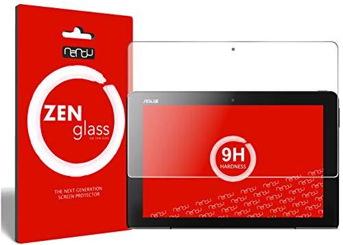 ZenGlass Flexible Glas-Folie kompatibel mit Asus Transformer Book T101 Panzerfolie I Bildschirm-Schutzfolie 9H