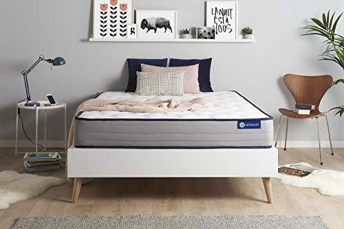 Materasso Actimemo form 120x210cm, Spessore : 22 cm, Memory foam, Rigido, 5 zone di comfort