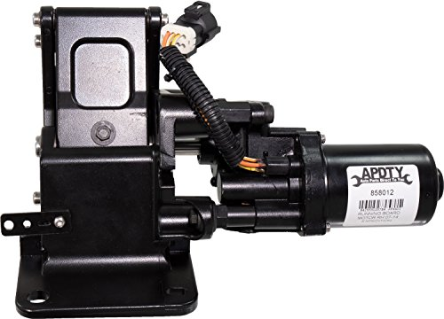 APDTY 858012 Running Board Motor & Bracket Assembly Fits Passenger Side Right 2007-2014 Ford Expedition Or Lincoln Navigator (Replaces 9L7Z-16A506-A, 9L7Z16A506A)