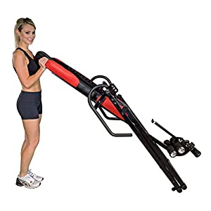 Health Gear ITM5500 Advanced Technology Inversion Table with Vibro Massage & Heat - Heavy Duty up to 300 lbs.