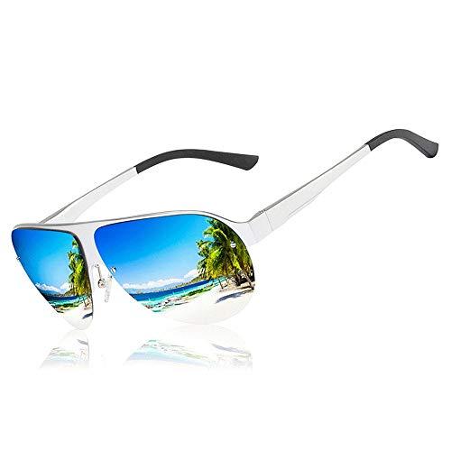 Ys-s Shop customization New Men's Polarized Sunglasses,Metal Legs,Sunglasses, Driving Anti-Reflective Goggles,Anti-Blu-ray Mobile Phone,Computer Goggles,Anti-Blu-ray Flat Light Goggles